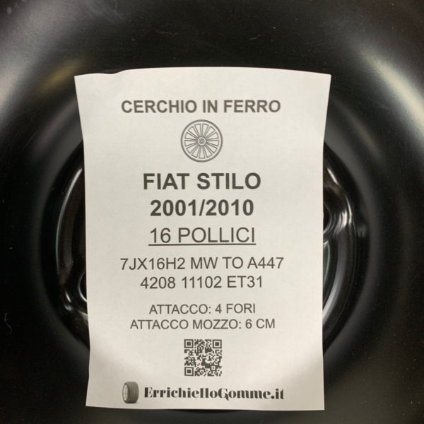 Cerchi Fiat Stilo