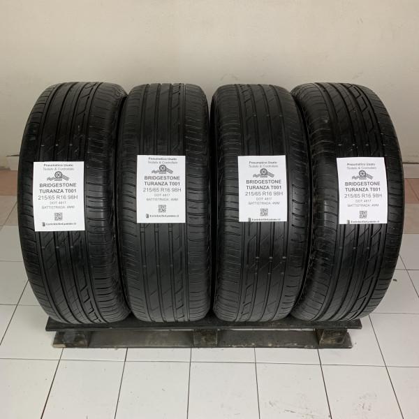 215/65 R16 98H Bridgestone Turanza T001 +4MM