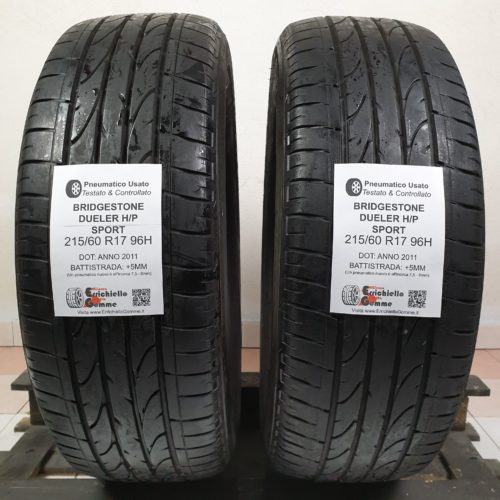 215/60 R17 96H Bridgestone Sport +5MM
