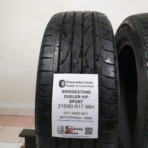 215/60 R17 96H Bridgestone Sport +5MM