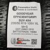 235/55 R19 105V XL M+S Goodyear EfficientGrip Suv 4X4 6MM