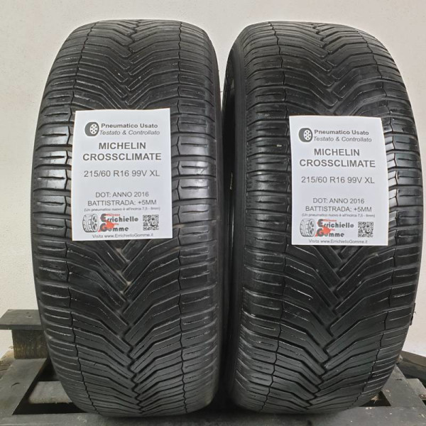 215/60 R16 99V XL Michelin Crossclimate +5MM