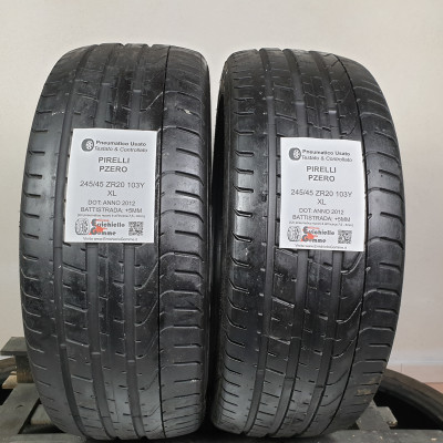 245/45 ZR20 103Y XL Pirelli PZero +5MM – Gomme Estive