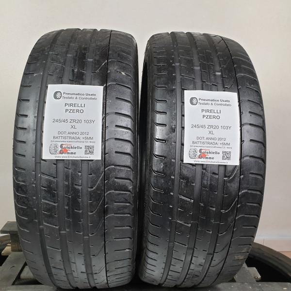 245/45 ZR20 103Y XL Pirelli PZero +5MM – Gomme Estive