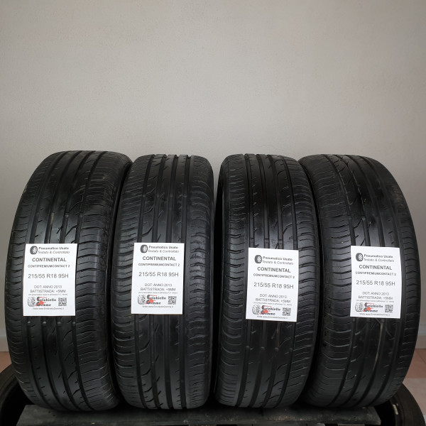 215/55 R18 95H Continental ContiPremiumContact 2 – Gomme Estive