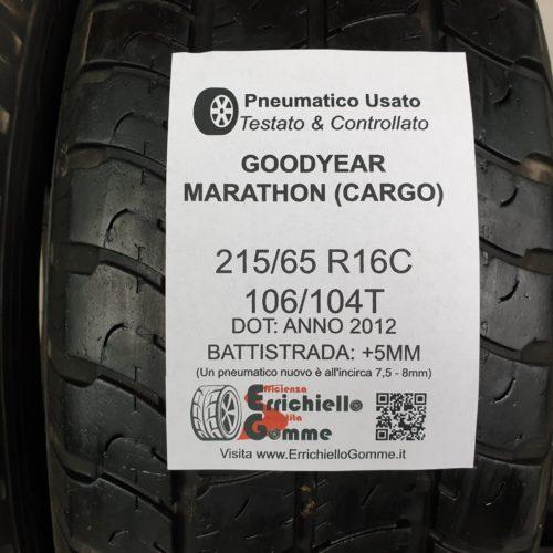 215/65 R16C 106/104T Goodyear Marathon (Cargo) – Gomme Estive Trasporto