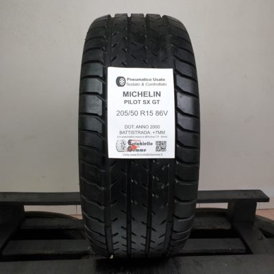 205/50 R15 86V Michelin Pilot SX GT – 90% +7mm – Gomme Estive