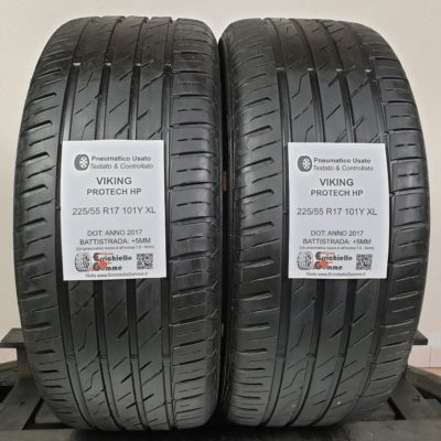 225/55 R17 101Y XL Viking Protech HP – 60% +5mm – Gomme Estive