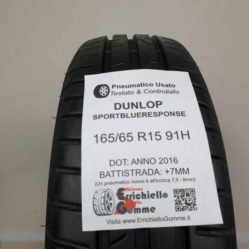 165/65 R15 91H Dunlop SportBlueResponse – 90% +7mm – Gomme Estive