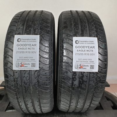 215/55 R16 93V Goodyear Eagle NCT5 – 70% +6mm – Gomme Estive