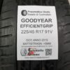225/45 R17 91V Goodyear EfficientGrip – 60% +5mm – Gomme Estive