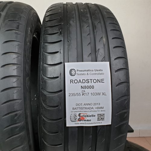 235/55 ZR17 103W XL Roadstone N8000 – 70% +6mm – Gomme Estive