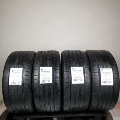 255/40 R19 100Y XL Continental ContiSportContact 5P (AO) – 50% +4mm – Gomme Estive