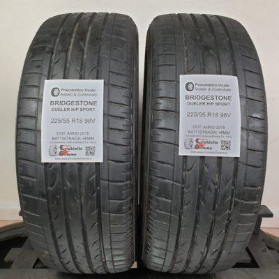225/55 R18 98V Bridgestone Dueler H/P Sport – 70% +6mm – Gomme Estive