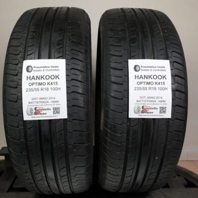235/55 R18 100H Hankook Optimo K415 – 70% +6mm – Gomme Estive