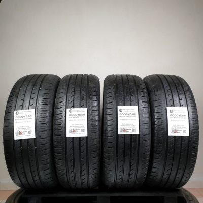 255/60 R18 112V XL M+S Goodyear EfficientGrip SUV 4×4 – 70% +6mm Gomme 4 Stagioni