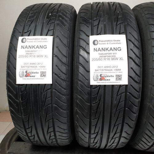 205/60 R16 96W XL Nankang TourSport 611 Reinforced – 60% +5mm – Gomme Estive