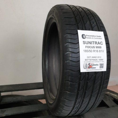 185/50 R16 81V Sunitrac Focus 9000 – 70% +6mm – Gomme Estive