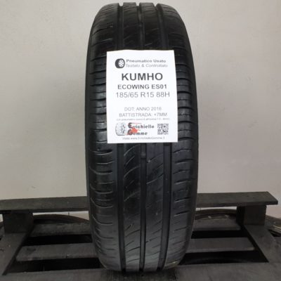 185/65 R15 88H Kumho EcoWing ES01 – 90% +7mm – Gomme Estive