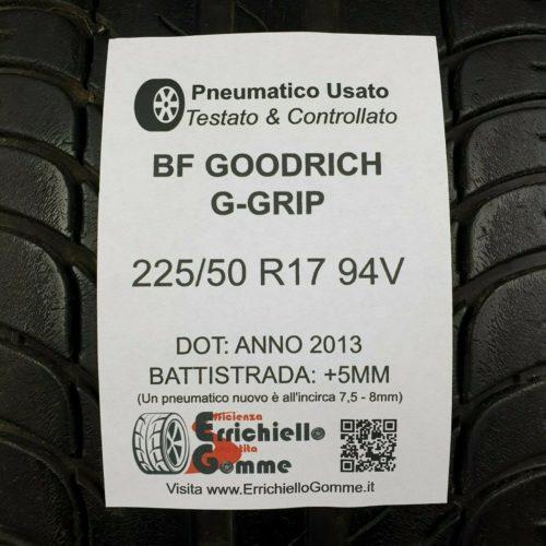 225/50 R17 94V BFGoodrich G-Grip – Gomme Estive