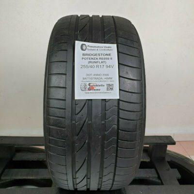 255/40 R17 94V Bridgestone Potenza RE050A II Runflat – Gomme Estive