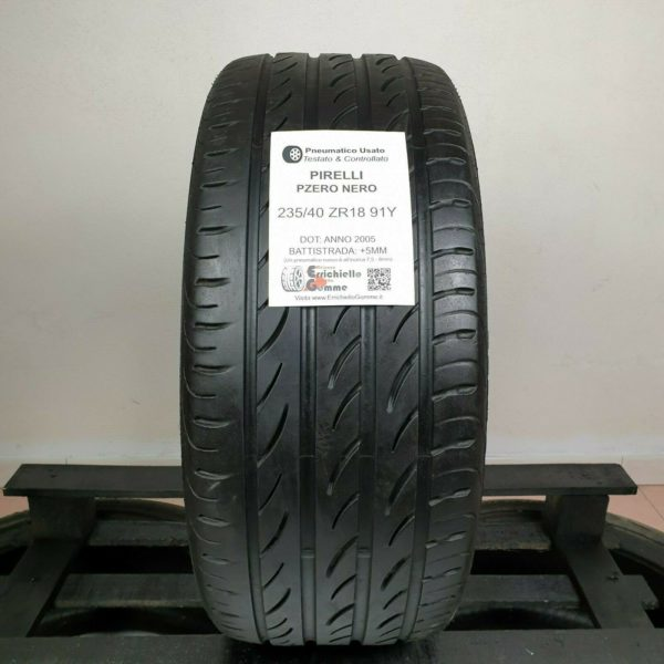 235/40 ZR18 91Y Pirelli PZero Nero – Gomme Estive