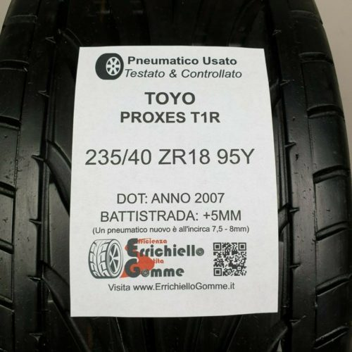 235/40 ZR18 95Y Toyo Proxes T1R – Gomme Estive