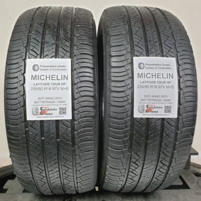 235/50 R18 97V M+S Michelin Latitude Tour HP – 60% +5mm – Gomme 4 Stagioni