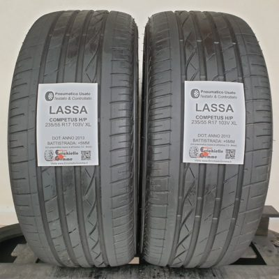 235/55 R17 103V XL Lassa Competus H/P – 60% +5mm – Gomme Estive