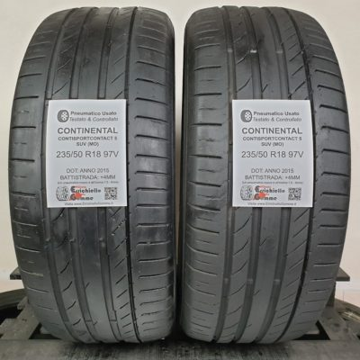 235/50 R18 97V Continental ContiSportContact 5 SUV (MO) – 50% +4mm – Gomme Estive