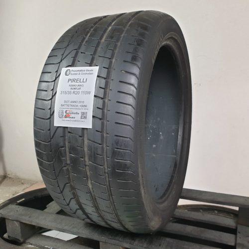 315/35 R20 110W Pirelli PZero (RSC) Runflat – 60% +5mm – Gomme Estive