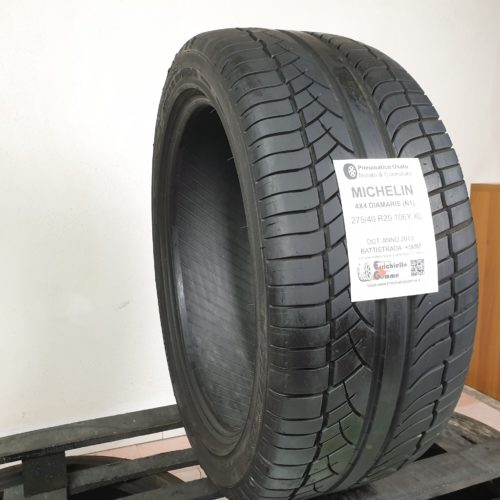 275/40 R20 106Y XL Michelin Diamaris 4×4 (N1) – 60% +5mm – Gomme Estive