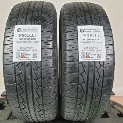 225/65 R17 102H M+S Pirelli Scorpion STR – 60% +5mm – Gomme Estive