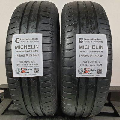 185/60 R15 84H Michelin Energy Saver (DT1) – 60% +5mm – Gomme Estive
