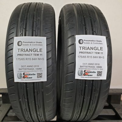 175/65 R15 84H M+S Triangle Protract Tem11 – 70% +6mm – Gomme Estive