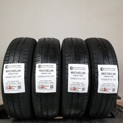 155/65 R14 75T Michelin Energy E3B – 50% +4mm – Gomme Estive