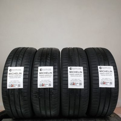 195/55 R16 87H Michelin Energy Saver (G1) – 60% +5mm Gomme Estive