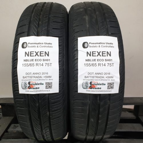 155/65 R14 75T Nexen NBlue Eco SH01 – 60% +5mm – Gomme Estive
