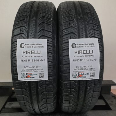 175/65 R15 84H M+S Pirelli All Season Cinturato – 60% +5mm – Gomme 4 Stagioni