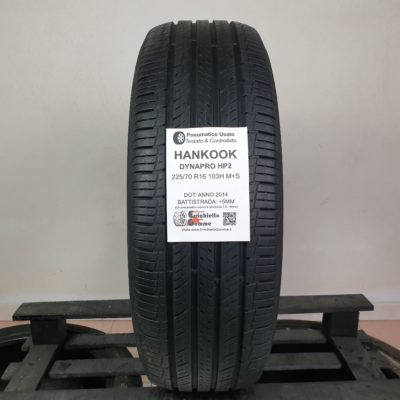 225/70 R16 103H M+S Hankook DynaPro HP2 – 60% +5mm – Gomme Estive