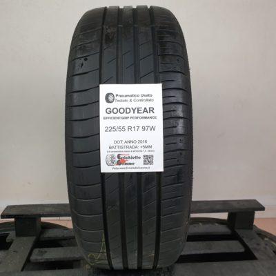 225/55 R17 97W Goodyear EfficientGrip Performance – 60% +5mm – Gomme Estive