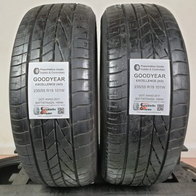 235/55 R19 101W Goodyear Excellence (AO) – 60% +5mm – Gomme Estive
