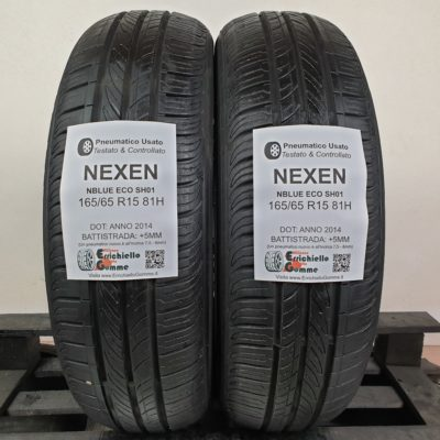 165/65 R15 81H Nexen NBlue Eco SH01 – 60% +5mm – Gomme Estive