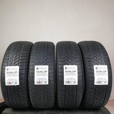 215/65 R16 98H M+S Dunlop SP Winter Sport 4D – 50% +4mm – Gomme Invernali