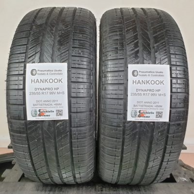 235/55 R17 99V M+S Hankook DynaPro HP – 70% +6mm – Gomme Estive