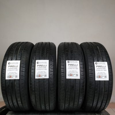 215/65 R17 99V Pirelli Scorpion Verde – 70% +6mm – Gomme Estive