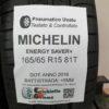165/65 R15 81T Michelin Energy Saver+ – 60% +5mm – Gomme Estive