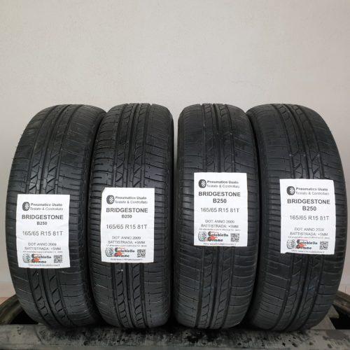165/65 R15 81T Bridgestone B250 – 60% +5mm – Gomme Estive