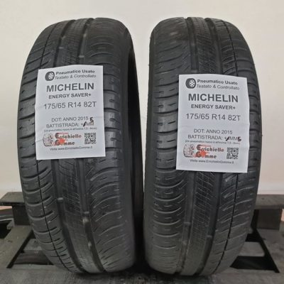 175/65 R14 82T Michelin Energy Saver+ – 50% +4mm – Gomme Estive