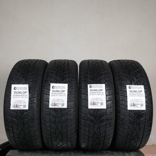 225/60 R17 99H M+S Dunlop SP Winter Sport 3D – 60% +5mm – Gomme Invernali